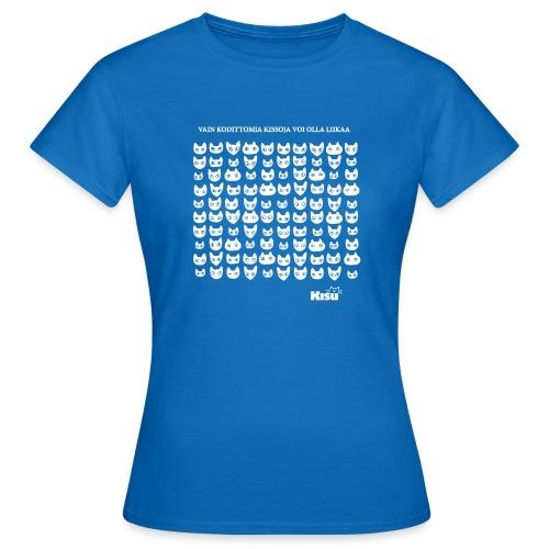 vain kodittomia valkoinen - Naisten t-paita