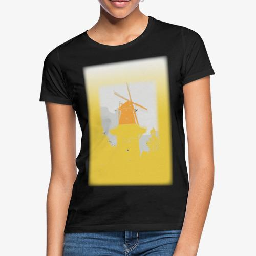 Mills yellow - Maglietta da donna