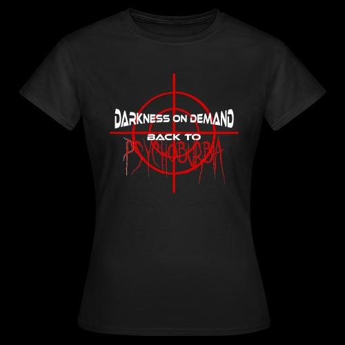 DoD Back to Psychoburbia - Frauen T-Shirt