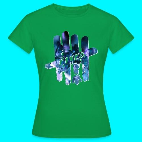 FIVES space flowers - T-shirt Femme