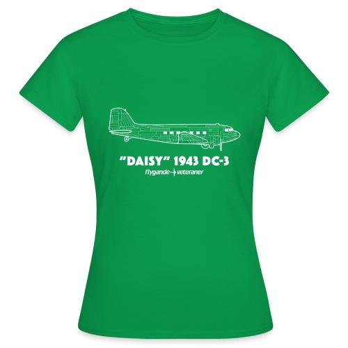 Daisy Blueprint Side 2 - T-shirt dam