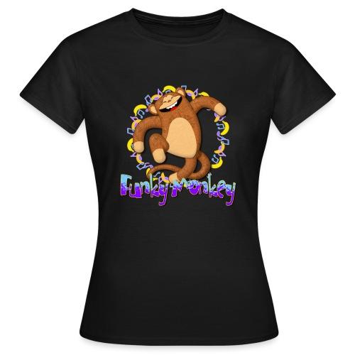 Funky Monkey - Maglietta da donna