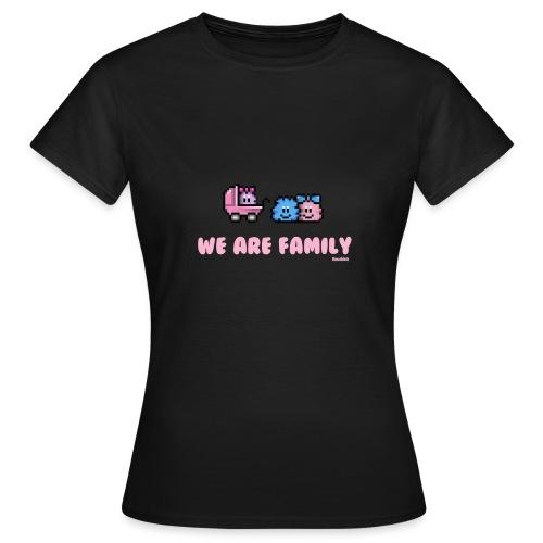 We Are Family - Girl - Frauen T-Shirt