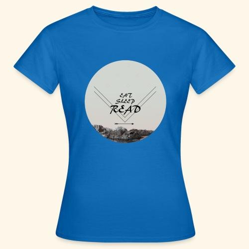 Eat, Sleep, Read - T-shirt dam