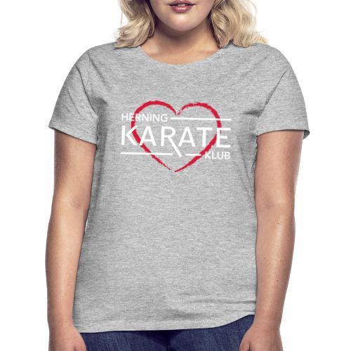 HKK Hjerte Hvid - Dame-T-shirt