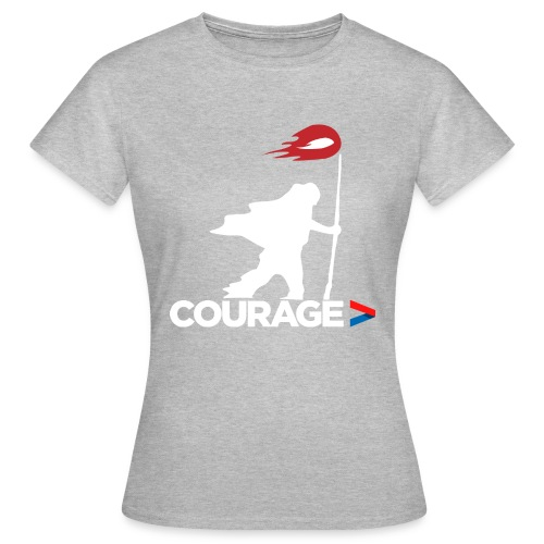 Walk With Courage - Women's T-Shirt