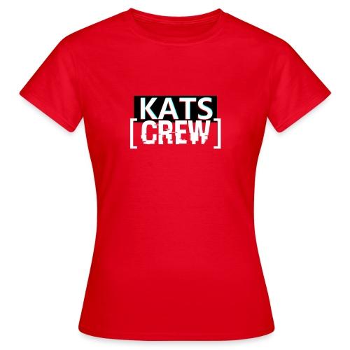 KATS CREW Logo - Koszulka damska
