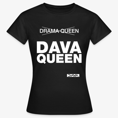 DAVA Queen - white - Women's T-Shirt