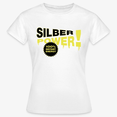 SilberPower! - Dame-T-shirt