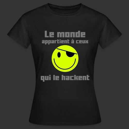 lemondeappartient - T-shirt Femme