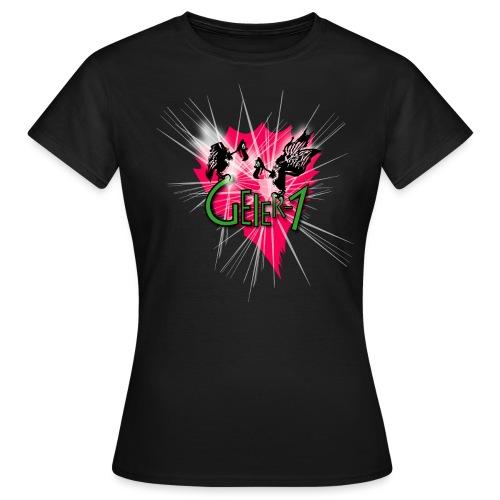 Geier-1 Stars - Frauen T-Shirt