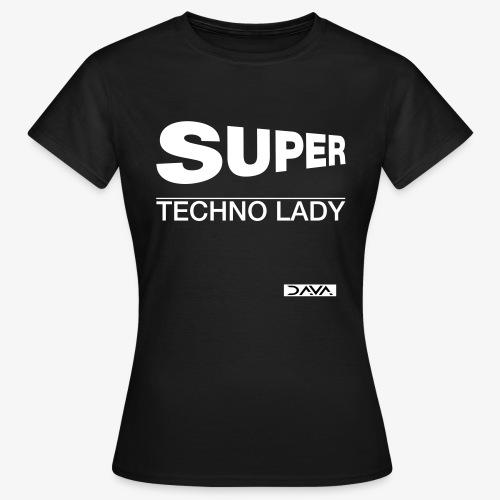 Techno Lady - white - Women's T-Shirt