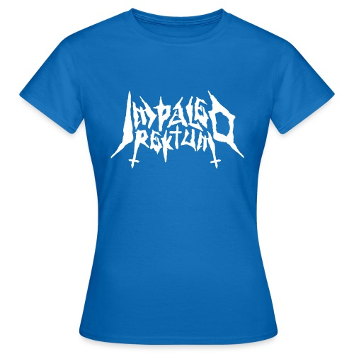 Impaled Rektum -logo shirt - Naisten t-paita
