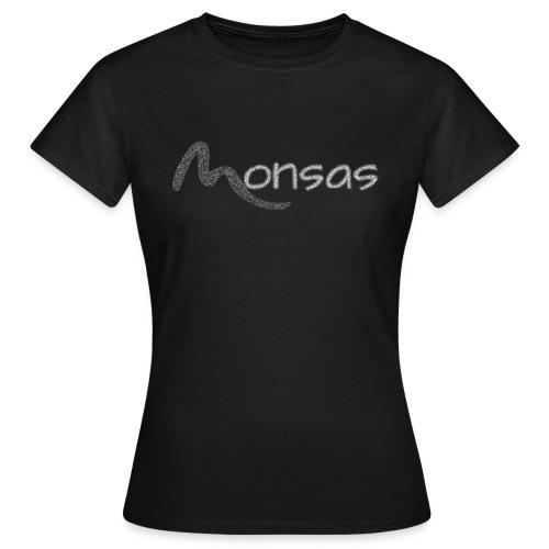 MonsasLP Fan-Shop Logo - Frauen T-Shirt