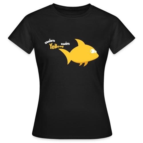 Yellow - Vrouwen T-shirt