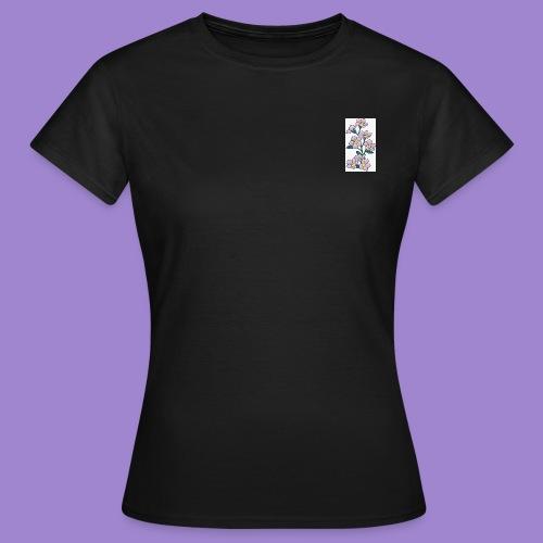 Violettes - T-shirt Femme