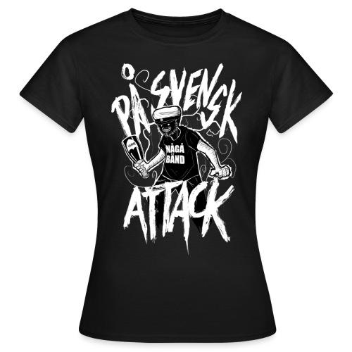 På Svenska Tack - Women's T-Shirt