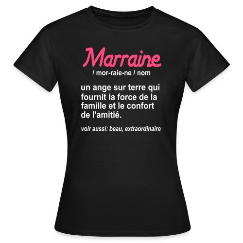 Marraine Définition - T-shirt Femme