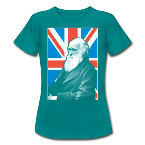 Darwin British scientist - Women's T-Shirt