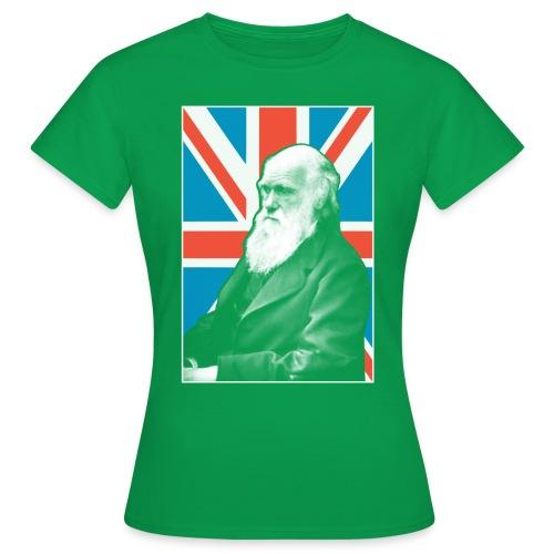 Darwin British scientist - Women's T-Shirt