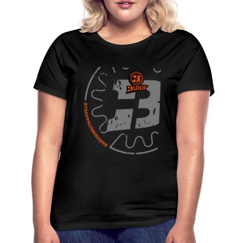 BUKK SPSHIRT maviensutkahville orange - Naisten t-paita