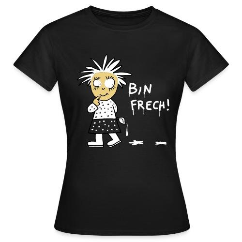 snuggi frech2 - Frauen T-Shirt