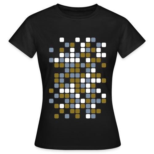carré_arondi_multicolor - T-shirt Femme