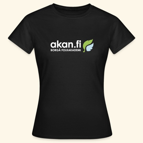 Akan White - T-shirt dam