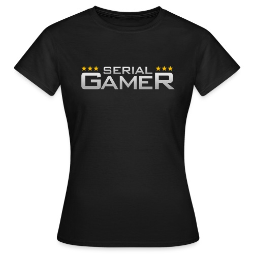 Serial Gamer Light - T-shirt Femme