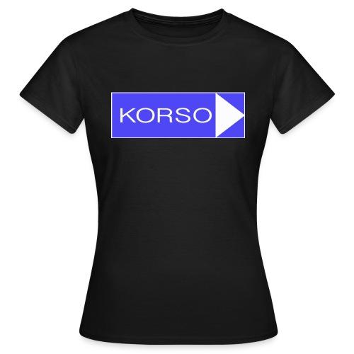 KorsoLiikennemerkki2 jpg - Naisten t-paita