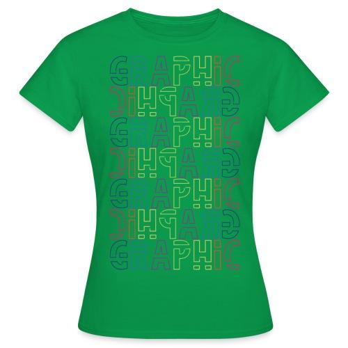 graficzny - Koszulka damska
