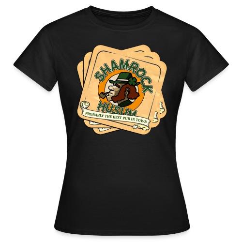 Shamrock Husum Logo Bierdeckel - Frauen T-Shirt