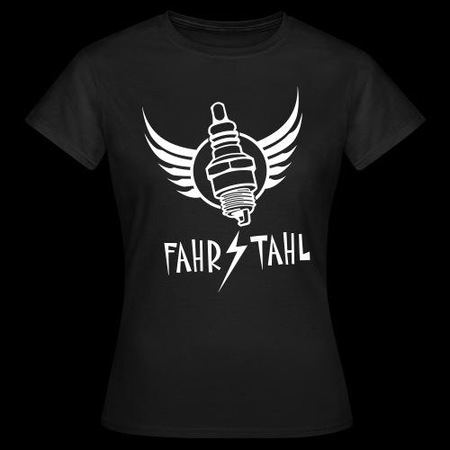 Fahrstahl Zündkerze - Frauen T-Shirt