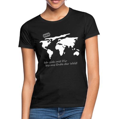 Ich zieh mit Dir bis ans Ende der Welt Pepp Speed - Frauen T-Shirt
