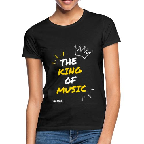 The king Of Music - Camiseta mujer