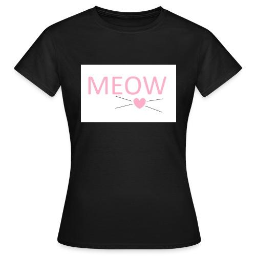 MEOW - Koszulka damska