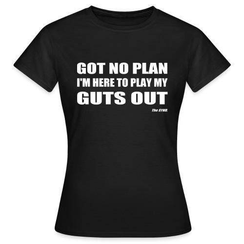 gutsout gif - T-shirt Femme