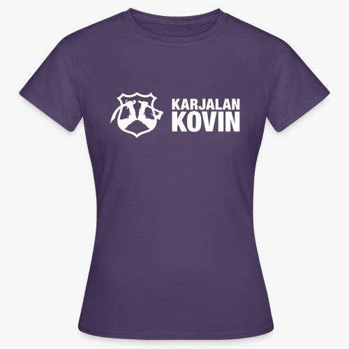 karjalan kovin vaaka - Naisten t-paita
