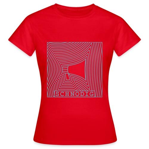Et Rop Om Hjelp Invert - T-skjorte for kvinner