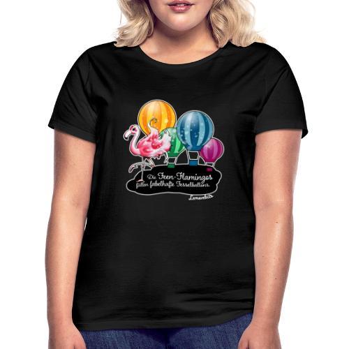 Flamingo & Ballons - Frauen T-Shirt