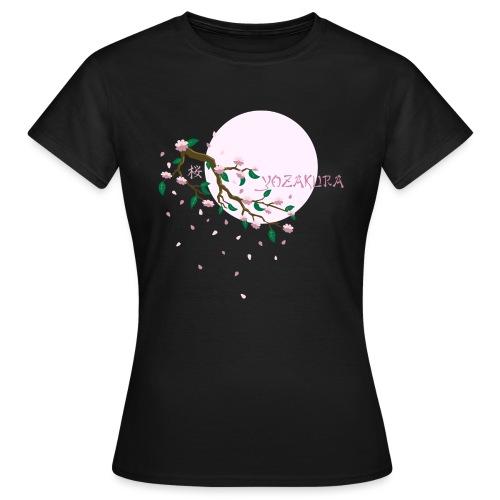 Cherry Blossom Festval Full Moon 1 - Frauen T-Shirt