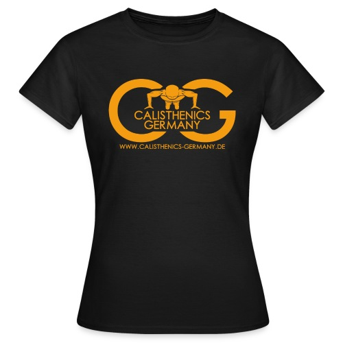 Calisthenics Germany Logo - Frauen T-Shirt