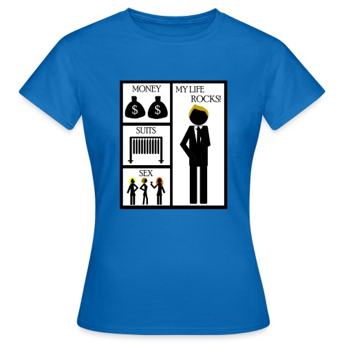 How I Met Your Mother money suits sex my life - Camiseta mujer