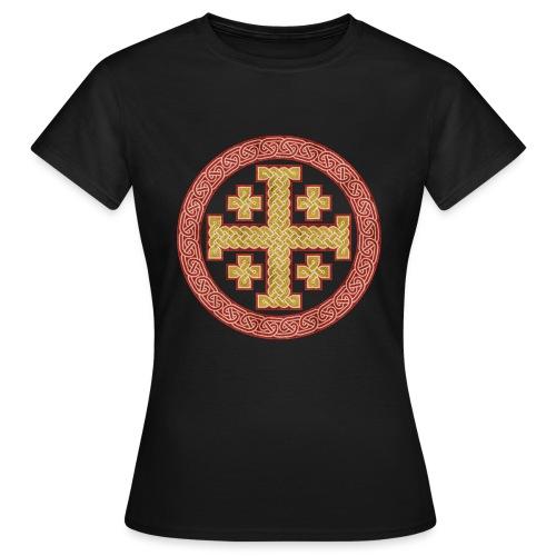 Jerusalem Style Celtic Cross - Women's T-Shirt