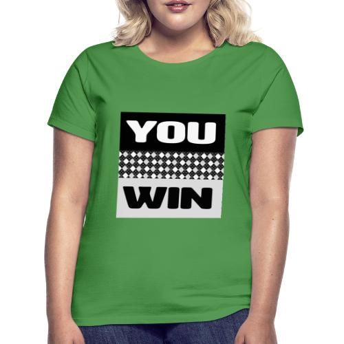 you win 7 - Women's T-Shirt