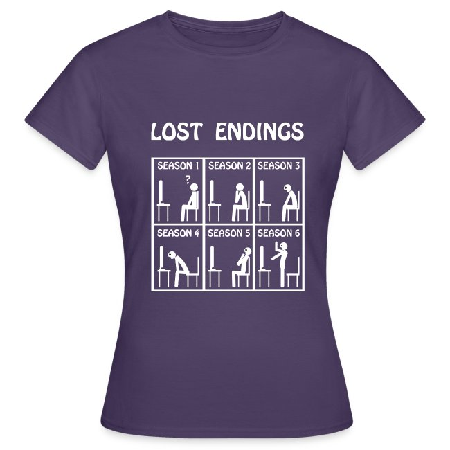 Lost endings white