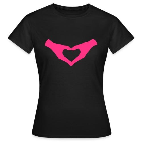 Herz Hände / Hand Heart 2 - Frauen T-Shirt