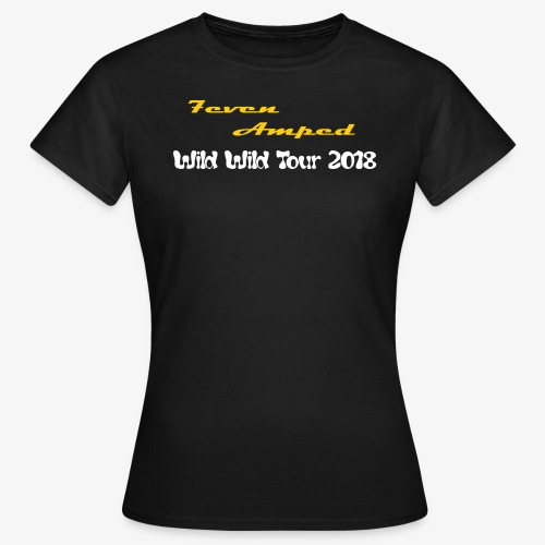 Logo 7even Amped transpar - Frauen T-Shirt