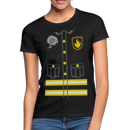 Fireman Costume - Dark edition - Women's T-Shirt