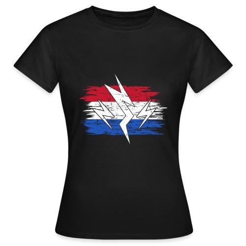 Niederlande Holland Strom Elektroauto Geschenk - Frauen T-Shirt